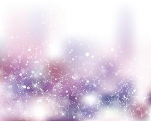 星とぼかしグラデーションの背景のイラスト素材 [FYI04937960]