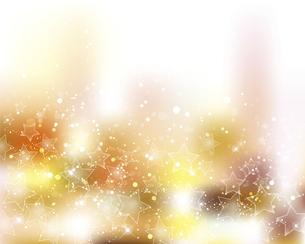 星とぼかしグラデーションの背景のイラスト素材 [FYI04938224]
