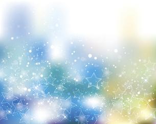 星とぼかしグラデーションの背景のイラスト素材 [FYI04938235]