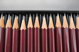 並んだ鉛筆の写真素材 [FYI04938757]