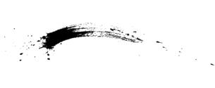 筆による和風の素材 しぶきのイラスト素材 [FYI04938875]
