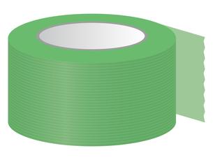 養生テープのイラストレーションのイラスト素材 [FYI04938883]