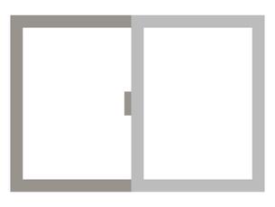 窓ガラスのイラストレーションのイラスト素材 [FYI04938885]