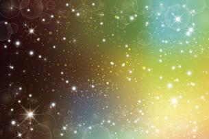 輝きとぼかしのグラデーション背景のイラスト素材 [FYI04938906]