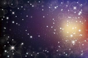 輝きとぼかしのグラデーション背景のイラスト素材 [FYI04938920]