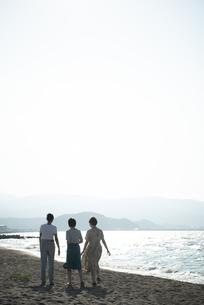 Z世代と海洋環境の写真素材 [FYI04939429]