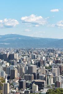 都市風景 熊本市の写真素材 [FYI04939991]