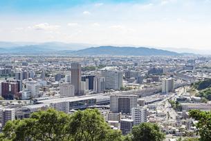 都市風景 熊本市の写真素材 [FYI04939993]