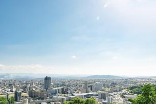 都市風景 熊本市の写真素材 [FYI04939994]