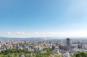 都市風景 熊本市の写真素材 [FYI04939996]