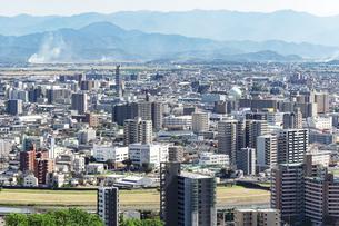 都市風景 熊本市の写真素材 [FYI04939997]