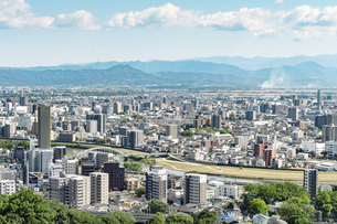 都市風景 熊本市の写真素材 [FYI04939998]