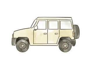 自動車-SUVのイラスト素材 [FYI04940405]