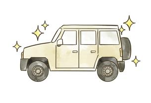 キレイな自動車-SUVのイラスト素材 [FYI04940406]