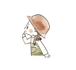 アウトドアウェアの女の子のイラスト素材 [FYI04940413]