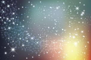 輝く星雲の銀河イメージ背景のイラスト素材 [FYI04940553]