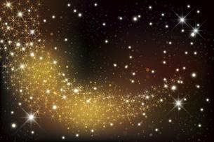 輝く星雲の銀河イメージ背景のイラスト素材 [FYI04940555]