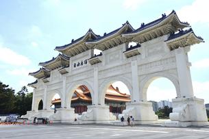台北 自由広場門の写真素材 [FYI04940648]