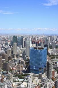 開発が進む麻布台・虎ノ門プロジェクトと港区の高層ビル群の写真素材 [FYI04941636]