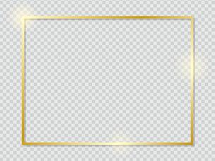 ゴールドのフレームのイラスト素材 [FYI04941785]