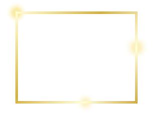 ゴールドのフレームのイラスト素材 [FYI04941788]