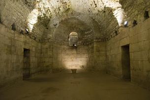 ディオクレティアヌス宮殿の地下室の写真素材 [FYI04941841]