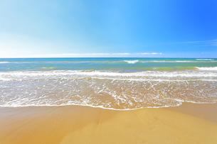千里浜なぎさドライブウェイより日本海の写真素材 [FYI04941875]