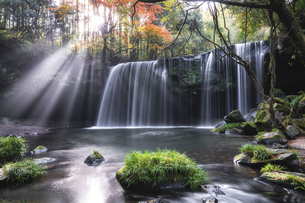 鍋ヶ滝の写真素材 [FYI04942878]