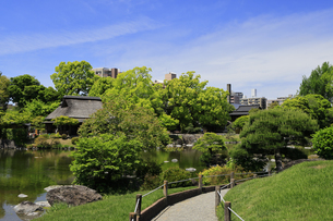 水前寺公園 熊本県の写真素材 [FYI04942986]