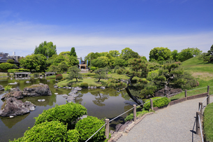 水前寺公園 熊本県の写真素材 [FYI04942987]