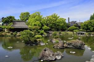 水前寺公園 熊本県の写真素材 [FYI04942989]