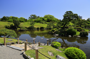 水前寺公園 熊本県の写真素材 [FYI04943004]
