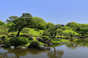 水前寺公園 熊本県の写真素材 [FYI04943005]