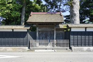 豪商・豪農の館 渡邉邸(新潟県関川村)の写真素材 [FYI04944246]