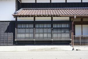 豪商・豪農の館 渡邉邸(新潟県関川村)の写真素材 [FYI04944247]