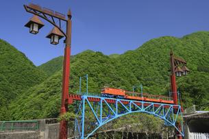 黒部峡谷鉄道の模型 富山県の写真素材 [FYI04944544]