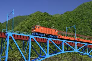 黒部峡谷鉄道の模型 富山県の写真素材 [FYI04944547]
