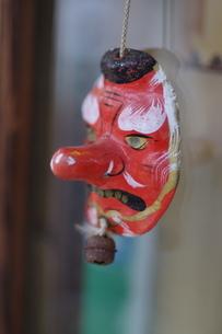 赤天狗の面の写真素材 [FYI04945342]
