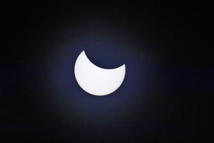 インドネシアの皆既日食の写真素材 [FYI04945453]
