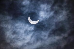 インドネシアの皆既日食の写真素材 [FYI04945454]
