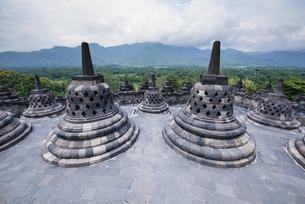 ボロブドール寺院の写真素材 [FYI04945458]
