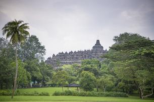 ボロブドール寺院の写真素材 [FYI04945482]