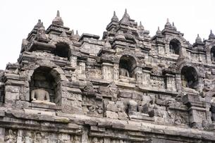 ボロブドール寺院の写真素材 [FYI04945484]