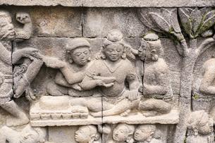 ボロブドール寺院の写真素材 [FYI04945485]
