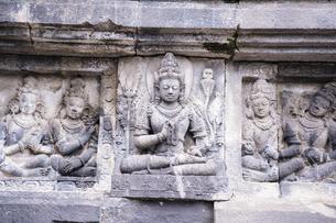 プランバナン寺院の写真素材 [FYI04945498]