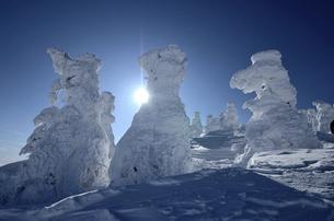 蔵王の樹氷の写真素材 [FYI04946633]