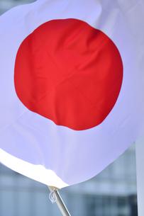 日の丸の旗の写真素材 [FYI04946879]