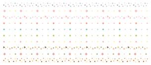 シンプルな飾り罫のイラストレーションのイラスト素材 [FYI04947529]