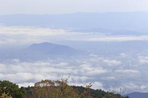 磐梯吾妻スカイラインからの雲海の写真素材 [FYI04948557]