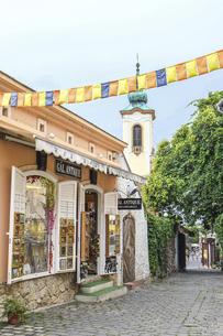 ハンガリーの小さな可愛い町の写真素材 [FYI04948666]